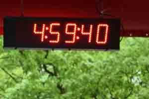 Marathon Uhr