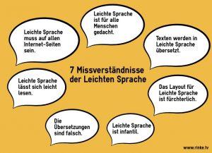 Infografik, Leichte Sprache Kritik